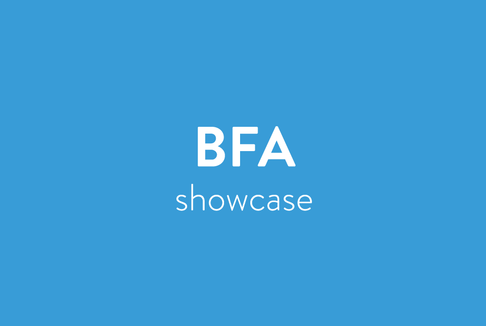 BFA Graphic Design Showcase